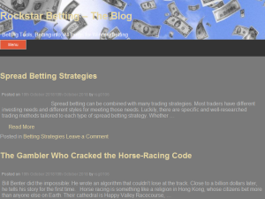 Rockstar Betting - The Blog Blogging Fusion Blog Directory
