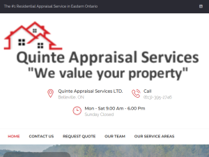 Quinte Appraisal Services LTD : Blogging Fusion Blog Directory
