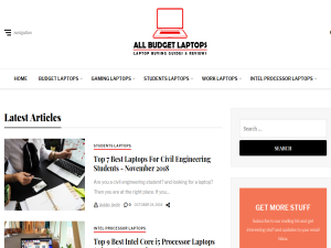 All Budget Laptops Blogging Fusion Blog Directory