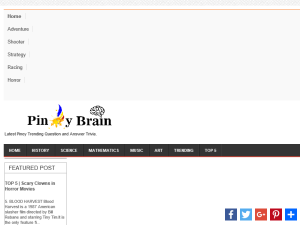 Pinoy Brain Trivia Blogging Fusion Blog Directory