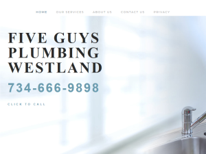 Five Guys Plumbing Westland Blogging Fusion Blog Directory