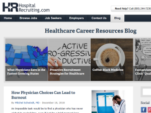 Healthcare Career Resources Blogging Fusion Blog Directory