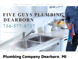 Five Guys Plumbing Dearborn