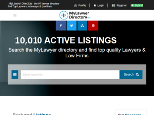 MyLawyer Directory Blogging Fusion Blog Directory