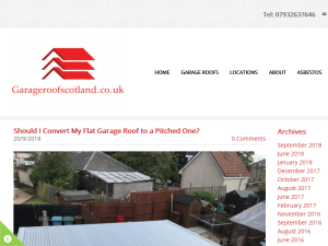 Garage Roof Scotland Blog Blogging Fusion Blog Directory