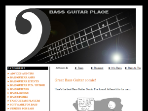 Bass Guitar Place Blogging Fusion Blog Directory