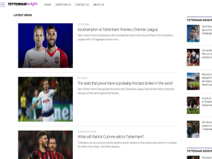 Tottenham Insight Blogging Fusion Blog Directory
