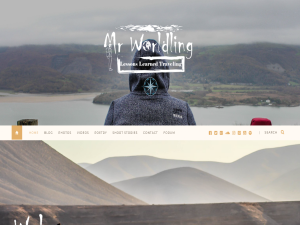 Mr Worldling - Lessons Learned Travelling Blogging Fusion Blog Directory