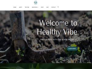 Healthy Vibe CBD Blogging Fusion Blog Directory