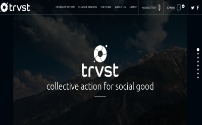 TRVST | Act for Change & Blogging Fusion Blog Directory