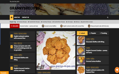 Grannys Recipes Blogging Fusion Blog Directory