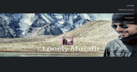 Lonely Musafir Blogging Fusion Blog Directory