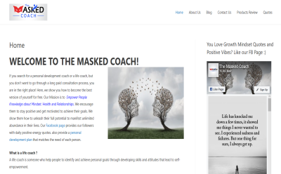 The Masked Coach Blogging Fusion Blog Directory