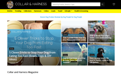Collar & Harness Magazine Blogging Fusion Blog Directory