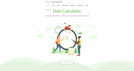 Date and Time Calculator Blogging Fusion Blog Directory