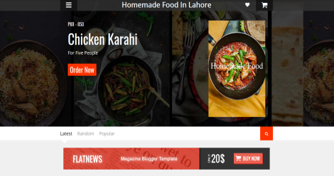 Homemade Food Delivery in Lahore Blogging Fusion Blog Directory