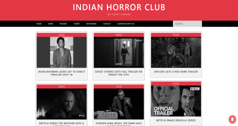 Indian Horror Club Blogging Fusion Blog Directory
