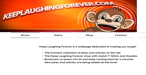 Keep Laughing Forever - Funny Blogging Fusion Blog Directory