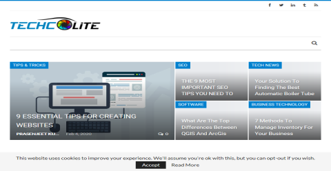 Techcolite- Technology is Awesome Blogging Fusion Blog Directory