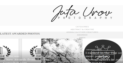 Juta Urov PHOTOGRAPHY Blogging Fusion Blog Directory