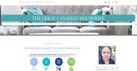 The Great Canadian Housewife Blogging Fusion Blog Directory