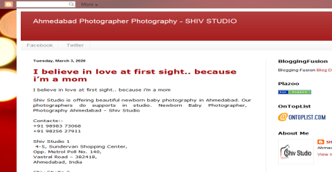 Ahmedabad Photographer Photography - SHIV STUDIO Blogging Fusion Blog Directory