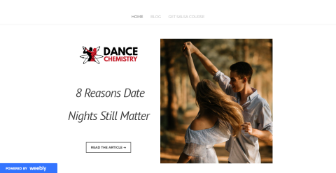 Date Night Salsa Blogging Fusion Blog Directory