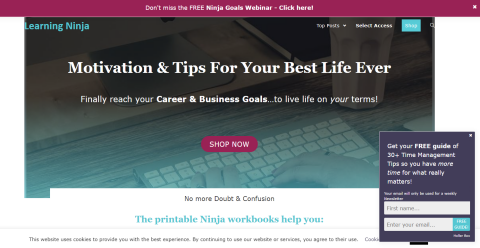 Learning Ninja Positive Blogging Fusion Blog Directory