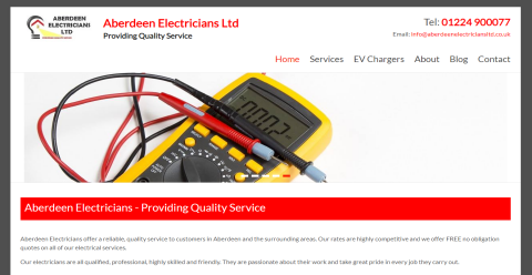 Aberdeen Electricians Blogging Fusion Blog Directory
