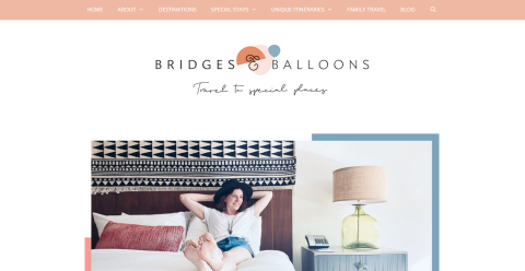 Bridges and Balloons | Travel Blogging Fusion Blog Directory