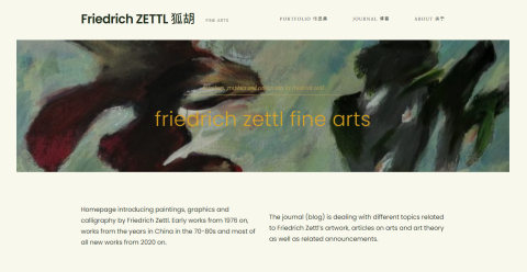 Friedrich Zettl Fine Arts Blogging Fusion Blog Directory