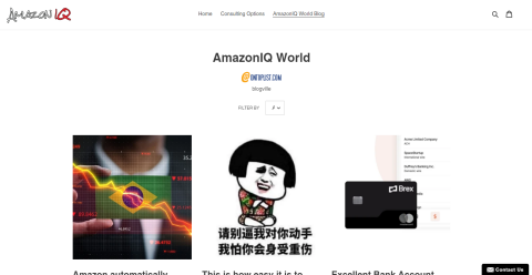 AmazonIQ World Seller Blog Blogging Fusion Blog Directory