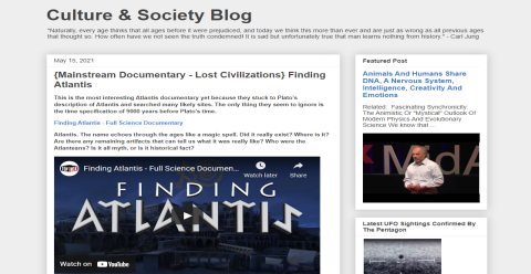 Culture Society Blog Blogging Fusion Blog Directory