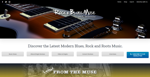 Rock and Blues Muse : Blogging Fusion Blog Directory