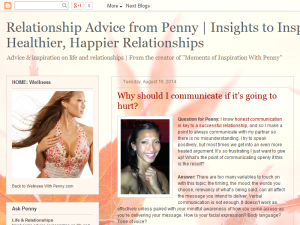 Relationship Advice from Penny  |  Insights to Inspire Healthier, Happier Relationships