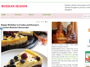 Russian Season Blogging Fusion Blog Directory