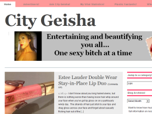 City Geisha Blogging Fusion Blog Directory