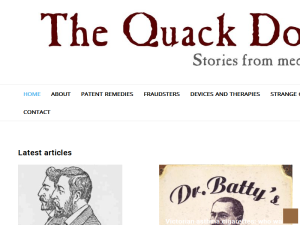 The Quack Doctor Blogging Fusion Blog Directory
