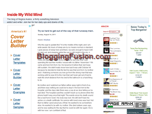 Inside My Wild Mind Blogging Fusion Blog Directory