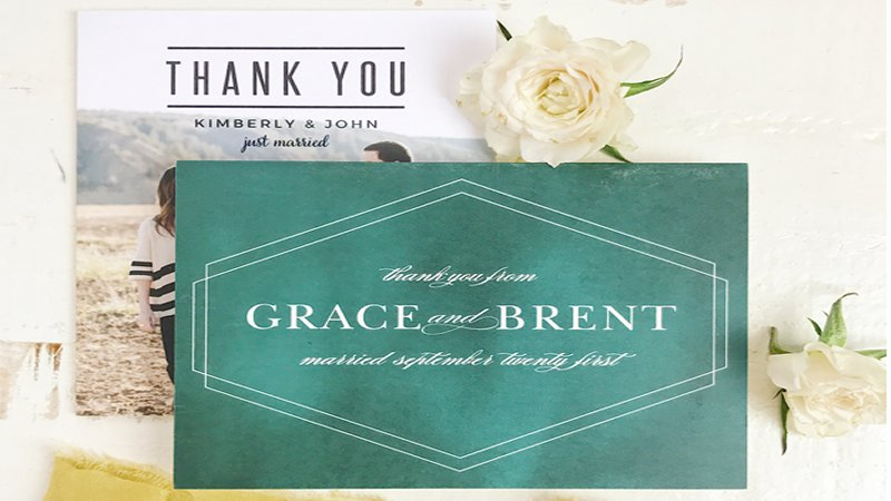 How to choose the perfect personalized thank you card Blogging Fusion Article